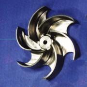 Hastelloy C, Incoel and Titanium Turbine Blade