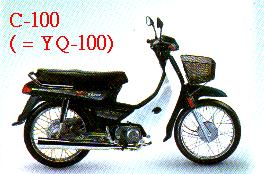C-100 (YQ-100) MOTORCYCLE