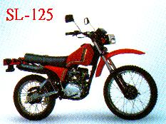 SL-125 MOTORCYCLE (SL 25 МОТОЦИКЛОВ)