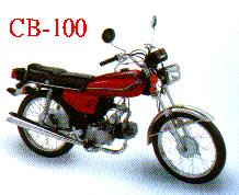 CB-100 MOTORCYCLE