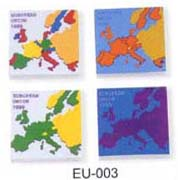 Europe Map of Eraser, EU-003