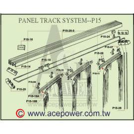 Panel Track Blinds (Группы Tr k Жалюзи)