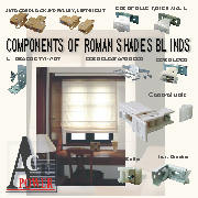 Roman Shades Blinds (Римские шторы Shades)
