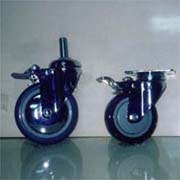 T#(WS) 100, 120 Single Wheel Casters (Т # (WS) 100, 120 Single Wh l Ведущие)