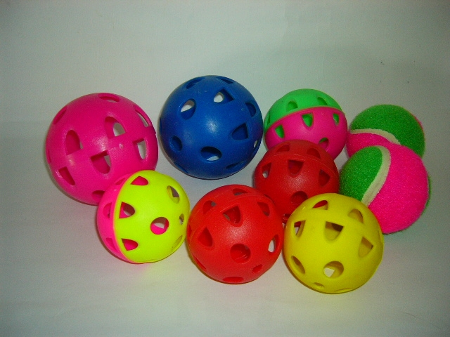 Plastic holy ball