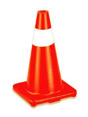18`` high rubber field marker cone (18``высоких резиновых области маркера конус)