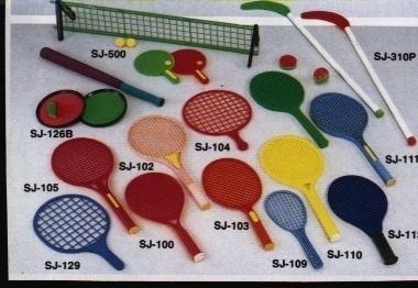 Plastic rackets