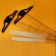 Acrylic ruler, Triangle, & T-Square