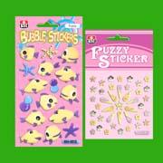 Fuzzy Bubble Sticker , Fuzzy Sticker (Нечеткие Bubble стикер, стикер Нечеткие)