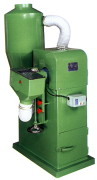 SHOE TOE GRINDING MACHINE WITH DUST COLLECTOR