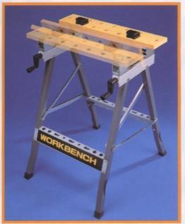 Adjustable angle work bench