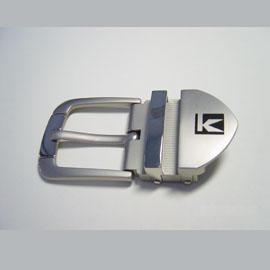 Matte Nickel-Plated Belt Buckle (Матовый никелированный Пояс пряжка)