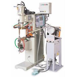 Air Pressure Automatic Spot Welding Machine_Automatic Feeding Nut Welder(Used by (Давление воздуха Автоматическое Точечная сварка M hine_Automatic кормления орехов Сварщик (Используется)