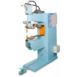 Air Pressure Automatic Spot Welding Machine_Two Stage Air Cylinder Soldering Mac