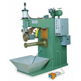 Air Hydraulic Pressure Automatic Seam Welder_Horizontal Type Seam Welder