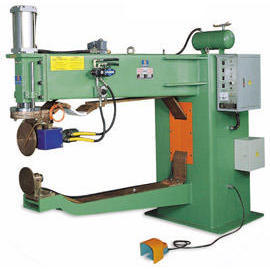 Air Hydraulic Pressure Automatic Seam Welder_Horizontal Welding for Top & Bottom
