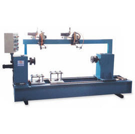 Automation Burning Welder Machine_Horizontal Type Double Gun Automation Welding