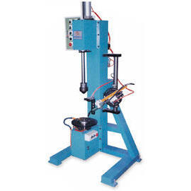Automation Burning Welder Machine_Vertical Type Burning Weld Auto Rotating Table