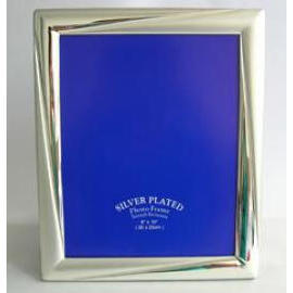 silver plated photo frame, metal photo frame & picture