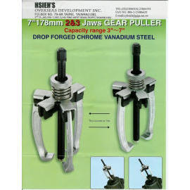 2 & 3 Jaws changeable Gear Puller 7``