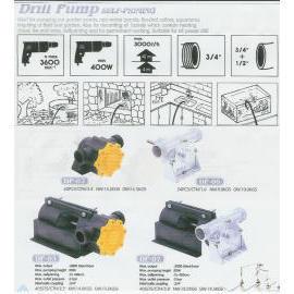 Drill Pump Self-Priming
