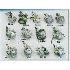 Carburetors for Motorcycles etc.