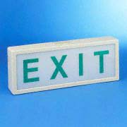 Exit Light And Emergency Direction Light