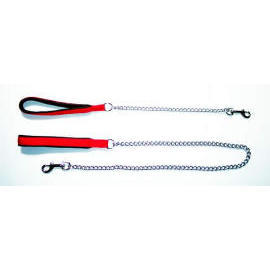 Chain Lead & Nylon Handle with soft protection