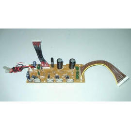 5.1CH power amplifier kit for subwoofer speaker, Audio, amp.