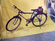 Motorized battery bike (Моторизованный велосипед батареи)