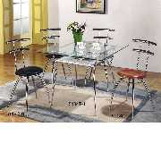 Tapered Legs Dining Set (#5134T+5118C) (Коническая Legs Dining Set (# 5134T 5118 C))