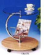 ``C`` Style Snack Table (#4087CR) (``C``Стиль Закусочная таблицы (# 4087CR))