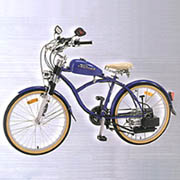CR2000 Cruiser, Motor Assisted Bicycle