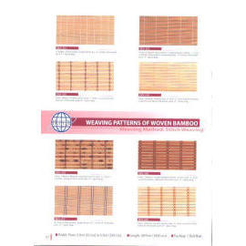 WEAVING PATTERNS OF WOVEN REED/JUTE/BAMBOO (Ткачество СХЕМЫ тканых R d / джута / BAMBOO)