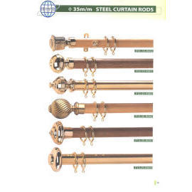 DIA. 35MM STEEL CURTAIN RODS (DIA. 35MM STEEL КАРНИЗЫ ДЛЯ ШТОР)
