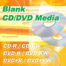 Blank CD/DVD Media