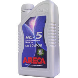 ARECA HC-5 10W-50 Synthetic Motor Oil (ARECA HC-5 10W-50 Synthetic Motor Oil)