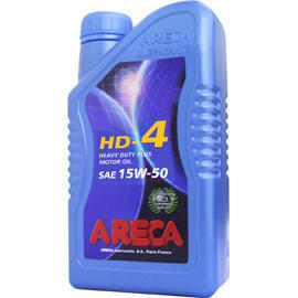 ARECA HD-4 15W-50 Heavy Duty Plus Motor Oil