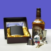 Flask Gift Set (Flasche Gift Set)