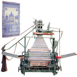 Automatic Jacquard Weaving Machine
