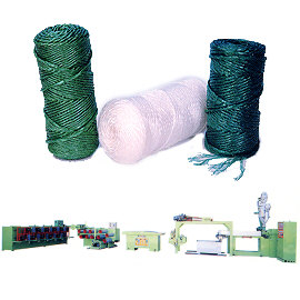 PP Fiber Rope Making Plant (PP Fiber Rope завод)