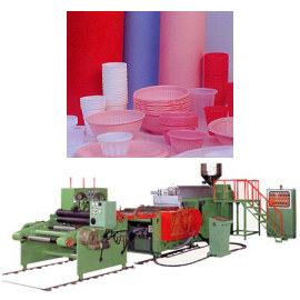 PS, ABS, HIPS, PP Sheet Making Machine