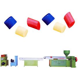 Single Degasification Coloring Pelletizing & Pigment Machine