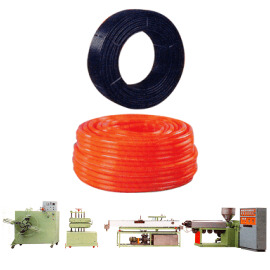 PVC Garden Hose, LDPE/HDPE Rigid Pipe Making Machine