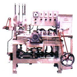 Double Ends Scraping And One Side Stamping Machine