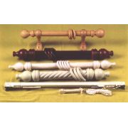 CURTAIN RODS AND FITTINGS