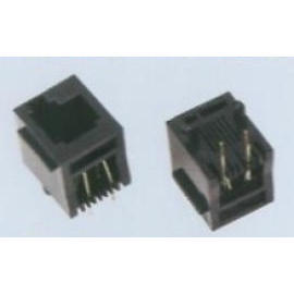 SIDE ENTRY /TOP ENTRY Modular PCB JACK (SIDE ENTRY / верхнюю запись Модульная PCB JACK)