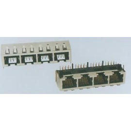 SIDE ENTRY Modular PCB JACK (SIDE ЗАПИСЬ Модульная PCB JACK)
