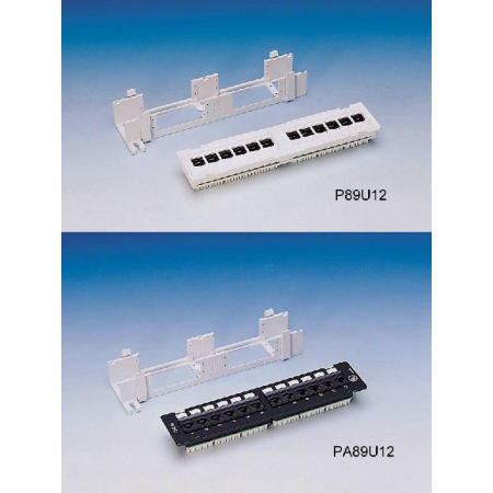 Cat.6/Cat.5e 89 Type Mini Patch Panels (Cat.6/Cat.5e 89 типа мини патч-панели)