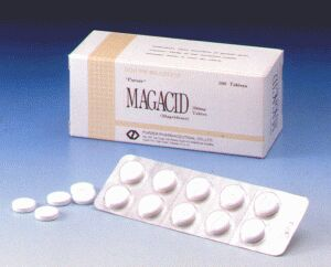 Magaldrate Tab.200.00mg (Magacid)
